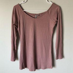 ASOS purple long sleeve shirt size 4